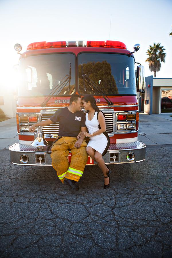 A Fireman Engagement